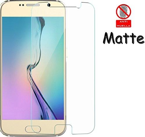Granada tech Pellicola Protettiva in Vetro Temperato Matte per Samsung Galaxy S6 l Film Opaca Anti-Riflesso & Anti-Impronte digitali, Resistenza agli Urti, Spessore di 0.33 mm