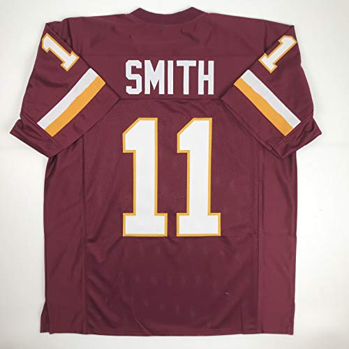 Unsigned Alex Smith Washington Red Custom Stitched Football Jersey Size Men's XL New No Brands/Logos
