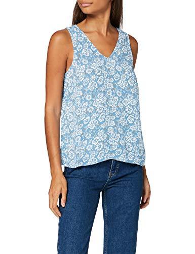 PIECES Damen PCMAEVE SL TOP Trägershirt/Cami Shirt, Lichen Blue, XS