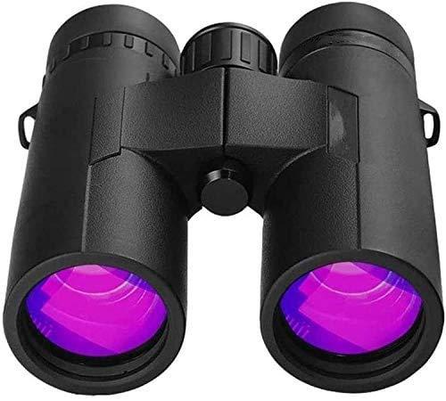 Binoculares Telescopio Estelar 10x42 Binoculares potentes con luz Clara y dbil Binoculares de visin para observacin de Aves Caza Deportes Binoculares con Ocular Grande -