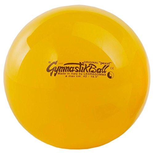 ORIGINAL Pezzi Gymnastik Ball Standard 42 cm gelb Büro