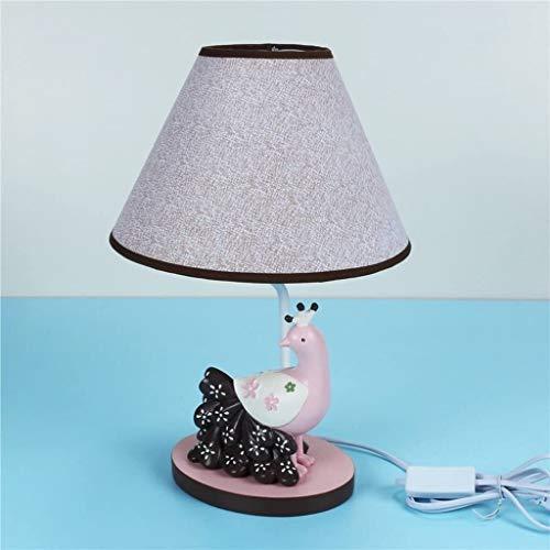 CSD Lámpara de mesa moda habitación de escritorio lámpara dormitorio noche lámpara de noche creativa linda historieta cálida luz chicas cumpleaños lámpara de mesa lámpara de noche lámpara de noche