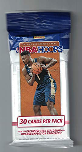 2019 Panini NBA Hoops Basketball Jumbo Pack - 30 Cards Per Factory Sealed Pack