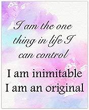 Hamilton Musical, I am inimitable I am an original, Hamilton Print 8X10 Unframed