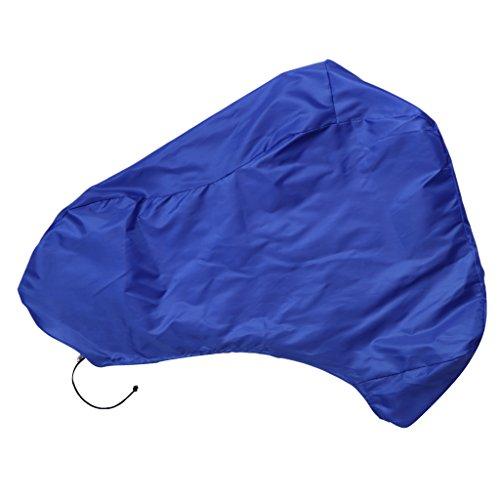 sharprepublic Cubierta Completa Impermeable para Barco a Motor Fuera de Borda con Protección Solar UV - 6 Tamaños Y 3 Colores - Escoger, 49x53x41 Pulgadas, Azul