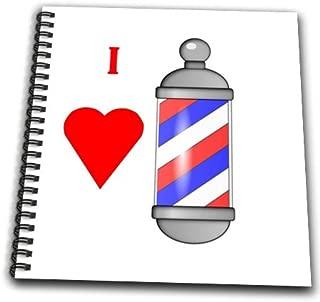 old fashioned barber pole