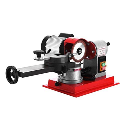 BananaB 370W Sägeblattschärfgerät 125MM Schärfmaschine Saw Blade Grinder 2850rpm polisher Grinding 80-700mm (370W)