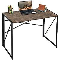 Coavas Writing Computer Modern Simple Study Desk (Brown)