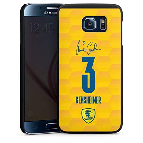 DeinDesign Hard Case kompatibel mit Samsung Galaxy S6 Schutzhülle schwarz Smartphone Backcover Rhein-Neckar-Löwen Handball Gensheimer