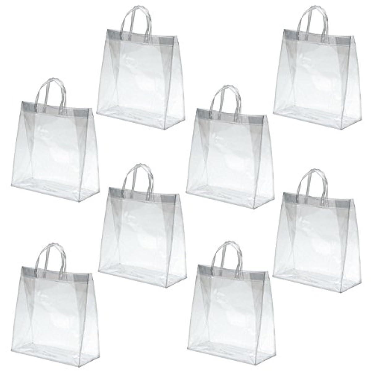 名前を作る学ぶ馬鹿アズワン PVC透明バッグ 中 /3-4851-02