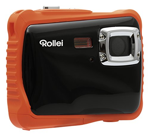 Rollei Sportsline 65 Digitalkamera orange/schwarz