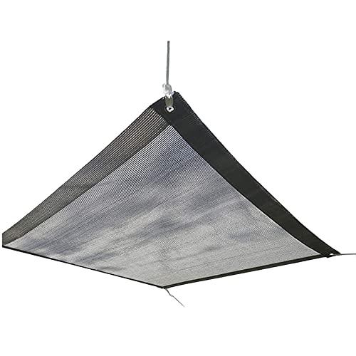 Toldo para el exterior - Sun Shade para Patio, Tarifa de sombreado del 90%, Para Pantalla de Privacidad, Tarpaulina Gris, Para Comerciales y Residenciales, Patio Shades - Personalizado disponible