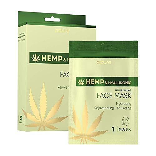 AZURE Hemp & Hyaluronic Nourishing Sheet Face Mask