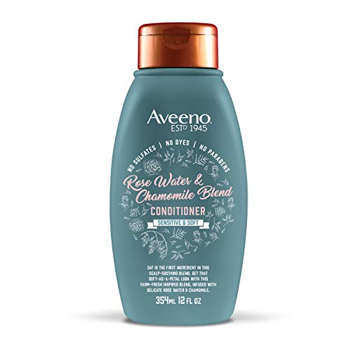 12-Oz Aveeno Rose Water and Chamomile Blend Conditioner $4.75 w/ S&S + Free S&H w/ Prime or $25+