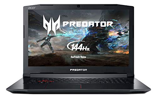 Acer Predator Helios 300 PH317-52 Gaming Notebook - (Intel Core i5-8300H, 8GB RAM, 128GB SSD + 1TB HDD, NVIDIA GeForce GTX 1050Ti 4G, 17.3' FHD IPS 144Hz Display, Black)