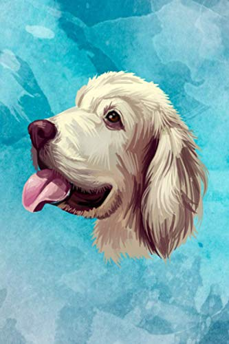 Clumber Spaniel Journal, Clumber Spaniel Notebook, Birthday and Christmas Gift (Retired Gentleman's Spaniel Dog Diary, Composition Book) by Pawsome Graphics, 6