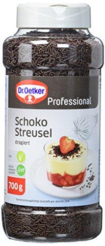 Dr. Oetker Professional Schokoladen-Streusel, 700 g Dose