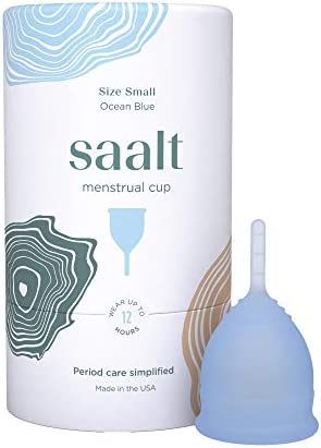 Saalt Menstrual Cup Premium Design Most Comfortable Period Cup 1 Active Cup Wear for 12 Hours product image