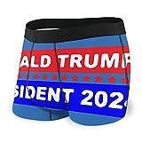 Trump President 2024 - Calzoncillos tipo bóxer para hombre, color negro