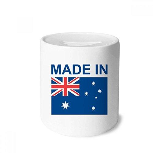 DIYthinker Made In Australien Country Liebe Spardose Sparkassen Keramik Münzfach Kinder Erwachsene 3.5 Zoll in Height, 3.1 Zoll in Duruchmesser Mehrfarbig