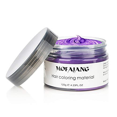 Purple Temporary Hair Dye Wax Natur…