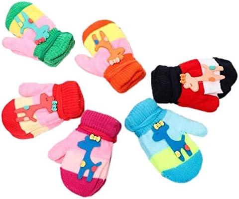 Newborn Infant Sweet Candy Contrast Max 59% OFF Color Gl Striped Finger Full Over item handling