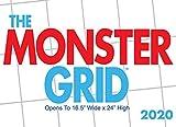 Monster Grid 2020 Wall Calendar