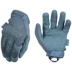 Mechanix Wear – Original Wolf Grey Tactical Gloves (X-Large, Grey)