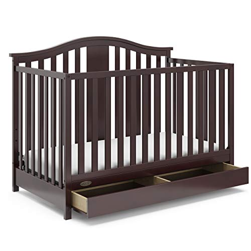 Storkcraft Graco Solano 4-in-1 Convertible Crib with Drawer Product Image