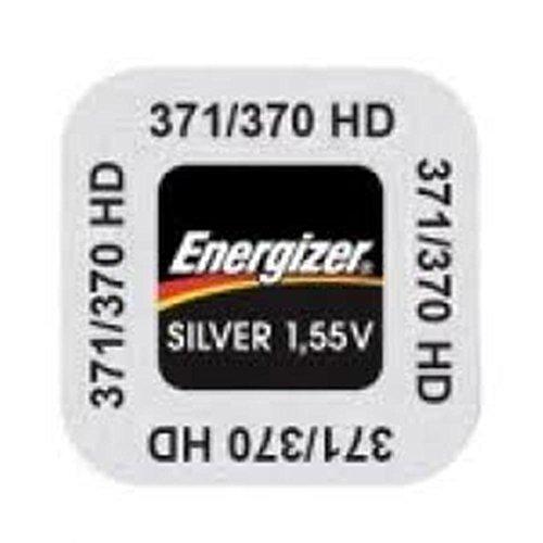 Energizer 2Packs von 1Silberoxid-Batterie für Uhren 371/370