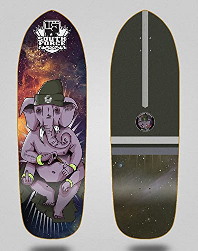 South force monopatin Skate Skateboard surfskate Deck Tabla Spirit Animal 33.5