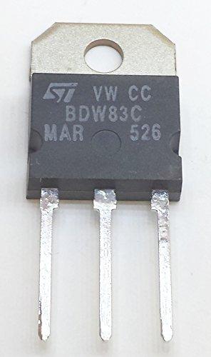 8 Stück BDW83C NPN SILICON POWER DARLINGTON TRANSISTOR | VCEO 100V | Ic 15A | Ptot 130W | TO-218 Gehäuse