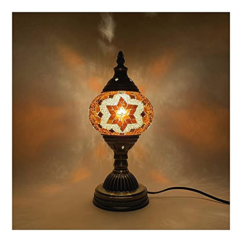 Lámpara De Mesa De Mosaico Turco De Bricolaje, Luz De Noche Retro Exótica LED, para Amigos Familiares Pareja Padre-niño Bricolaje Luces Decorativas (Color : I)