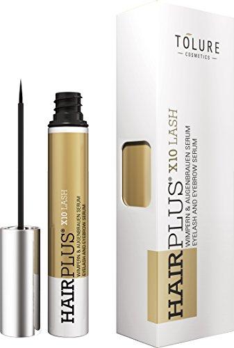 Tolure Cosmetics Hairplus X10Lash - Sérum para pestañas y cejas