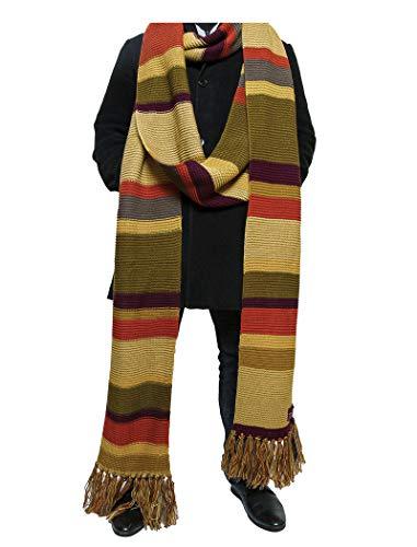 DOCTOR WHO Schal - 5,5 m lang - Schal des Vierten Doktors der 16. und 17. Staffel BBC - von LOVARZI