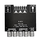 Bluetooth Amplificador Tablero HIFI STEREO 2.1 12V-24V 2x50W 100W Módulo de AUDIO AUDIO MÓDULO DE AUDIO Y AMPLIFICADOR DE PODER DIGITAL DE CONTROL DE TREBLE