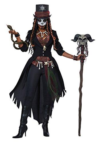 Women's Voodoo Magic Costume X-Large Black