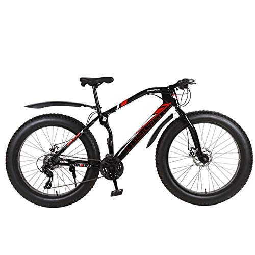 N-B Mountain Bike, Snow Bike, Double Disc Brake Bike, 26 * 4.0 Fat Tire Mountain Bike, Outdoor, Sports.
