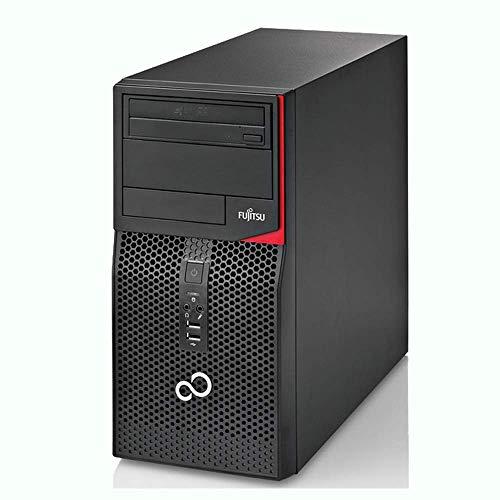 PC TOWER Computer Desktop FUJITSU Esprimo P410, Windows 10 Professional, Processore Intel i5-3a GEN, Memoria Ram 8GB DDR3, SSD 120GB, HD 500GB, DVD-ROM, WIFI (Ricondizionato)