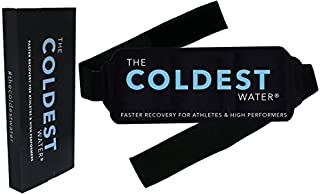 The Coldest Ice Pack Gel Reusable – Hot + Cold Therapy – Flexible Compress..