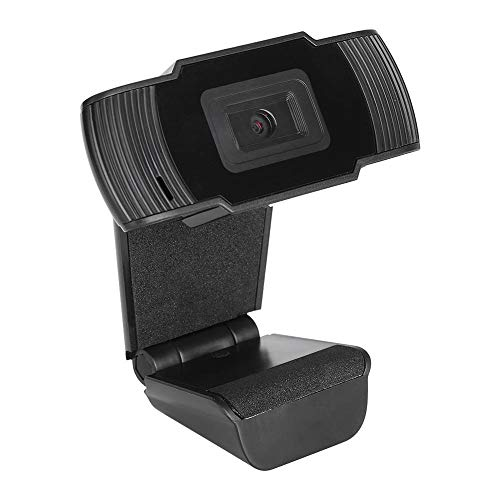 Webcamera, Full HD-webcam, 3 MP USB High Quality HD-webcamera, laptop voor conferenties en videogesprekken, Plug and Play(Zwart)