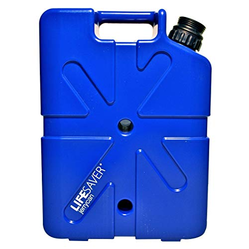 Lifesaver Systems Jerrican 20 000 UF Bleu Taille L