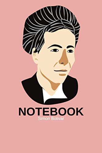 notebook Simon Bolivar: journal 6x9 120 Pages for People they love History.
