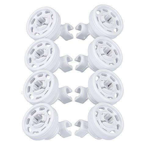 DL-pro 00424717 - Set di 8 cestini per cestello superiore per lavastoviglie Bosch Siemens Neff Constructa