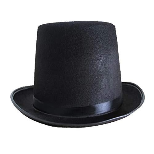Sylvialuca Zylinder Jazz Hut Halloween Hersteller Requisiten 78g (groß) hoch 16CM für Magic Cosplay