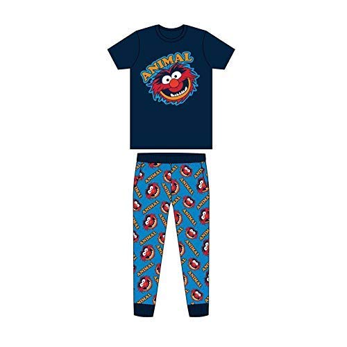 Pijama para adultos de Batman, Spiderman, Superman, Avengers, Jurassic, Park, Harry Potter, juego de pijama, disfraz de Pjama S-XL Animales Unleashed. L
