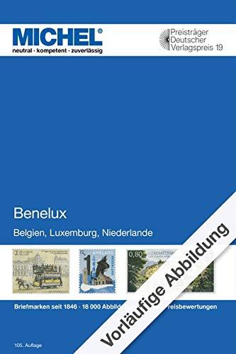 Benelux 2020/2021: Europa Teil 12 (MICHEL-Europa / EK): Europa Teil 12 / Belgien / Luxemburg / Niederlande / Briefmarken seit 1849 / 7600 Abbildungen / 37000 Preisbewertungen