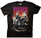 Ripple Junction Bleach Group Smoke Adult T-Shirt Large Black
