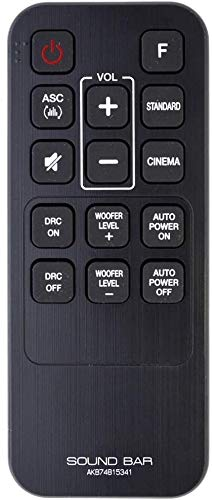 AKB74815341 - Mando a distancia para sistema de barra de sonido LG SH3 SH3B