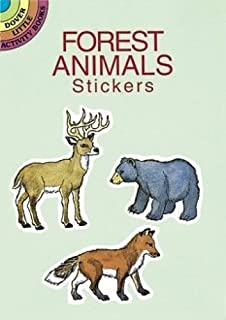 Forest Animals Stickers (Dover Little Activity Books Stickers)
